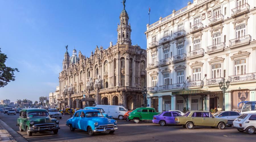 Grande teatro Havana vecchia