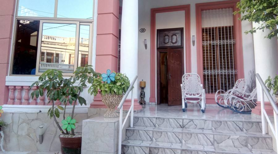 L'Havana esempio di Casa Particular al Vedado