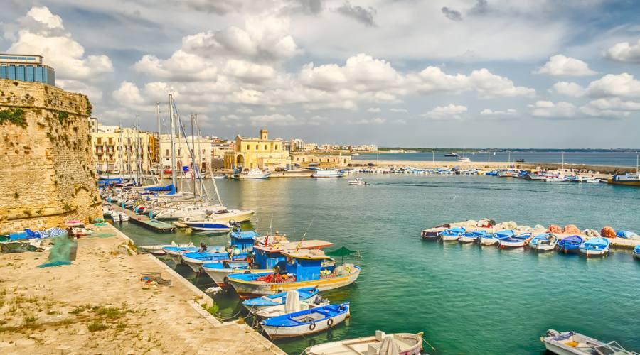Vista panoramica di Gallipoli