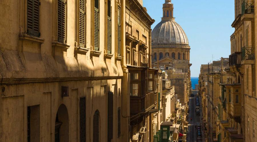 Malta: Stradina tipica