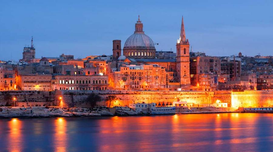 La Valletta By Night