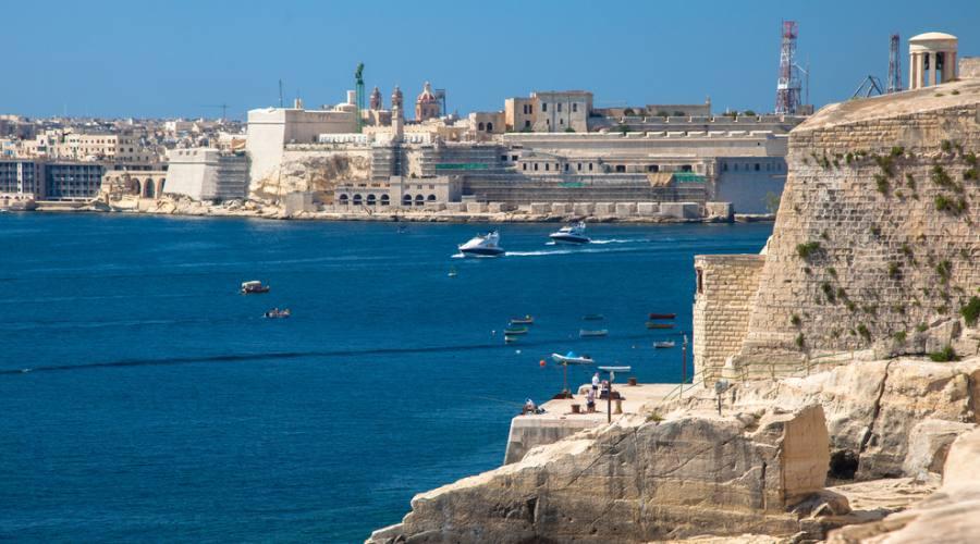 Porto di La Valletta a Malta