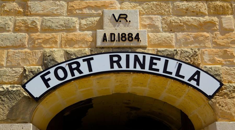 Forte Rinella a Malta
