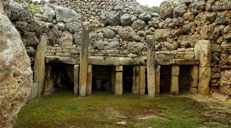 Templi Megalitici di Gjgantja a Gozo