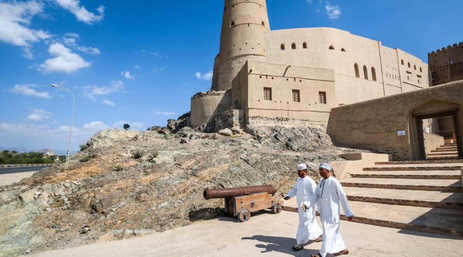 L'ingresso del Forte di Bahla