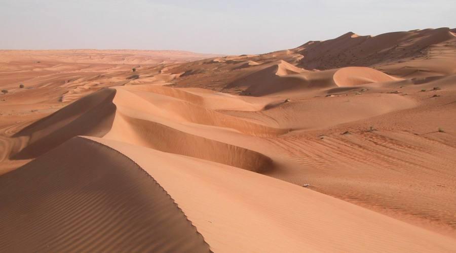 Le dune del deserto di Wahiba