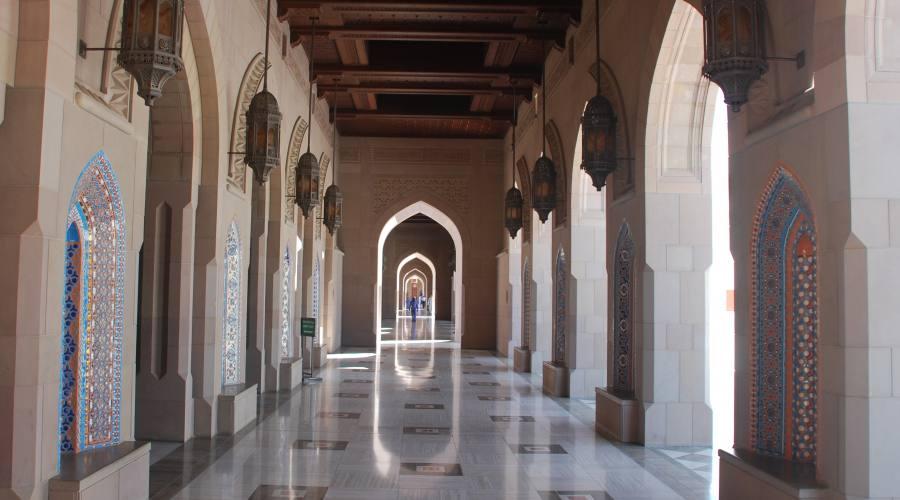La Moschea del Sultano Qaboos