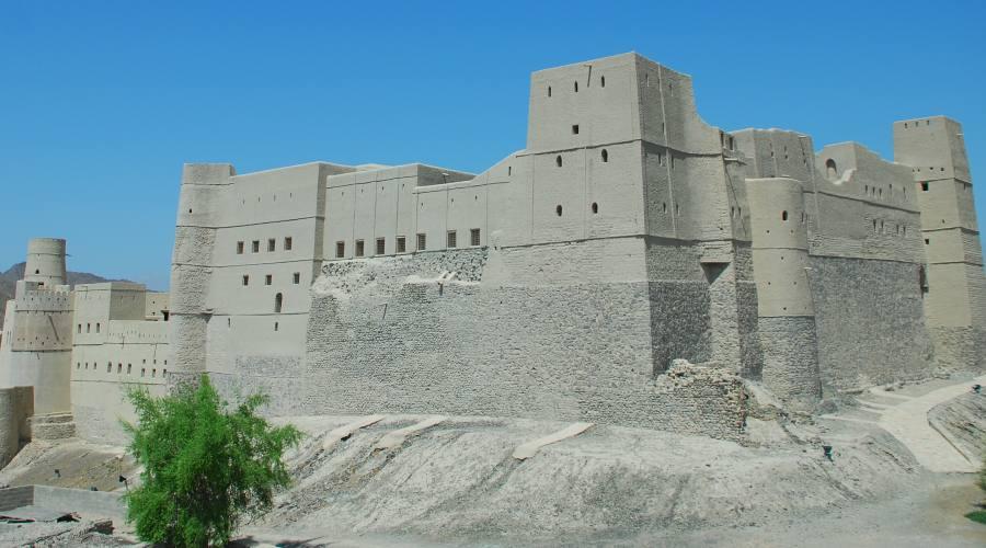 La Fortezza di Bahla (visitabile solo all'esterno)