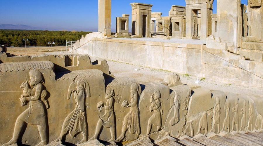 Dettagli di Persepoli