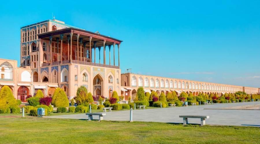 Palazzo Ali Qapu su Naqsh-e Jahan Square - Isfahan, Iran