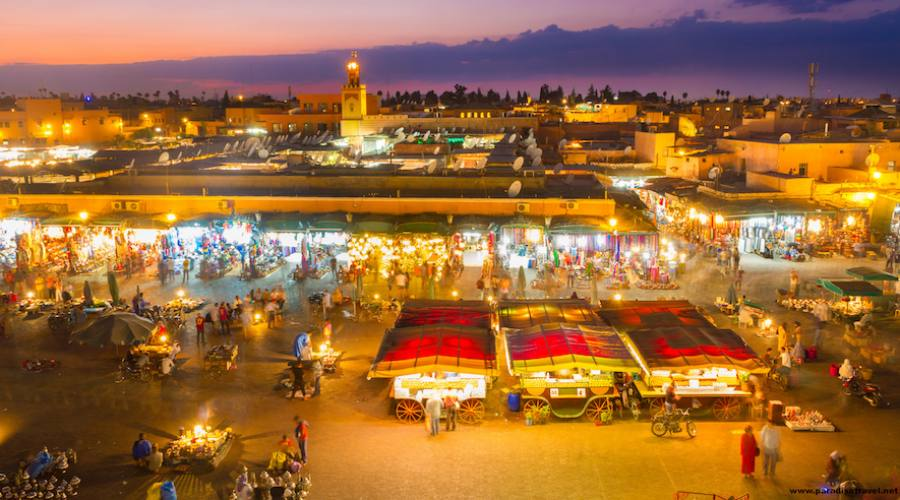 Marrakech - Piazza Jamaa El Fna