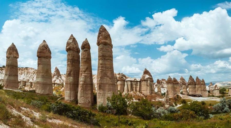 La valle di Goreme, Cappadocia