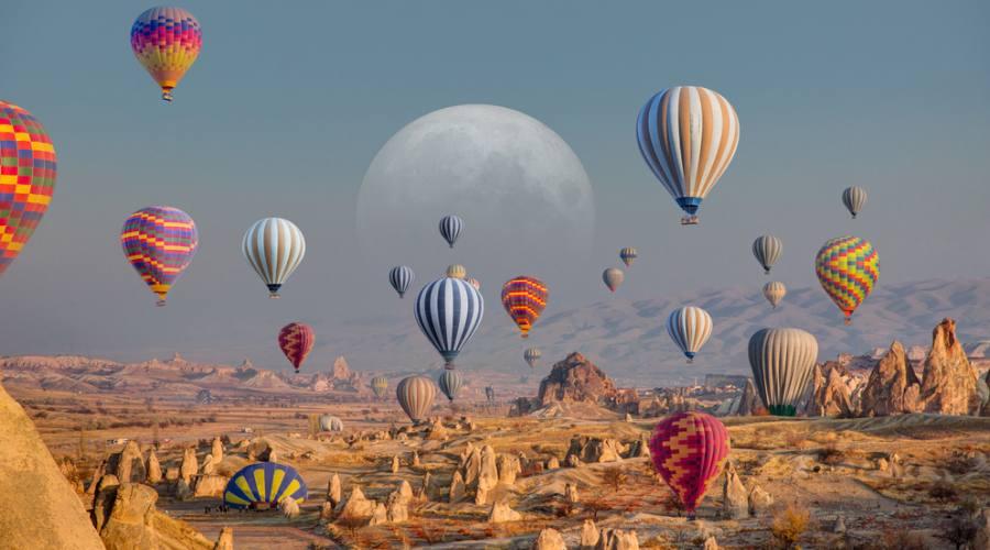 Le mongolfiere di Cappadocia