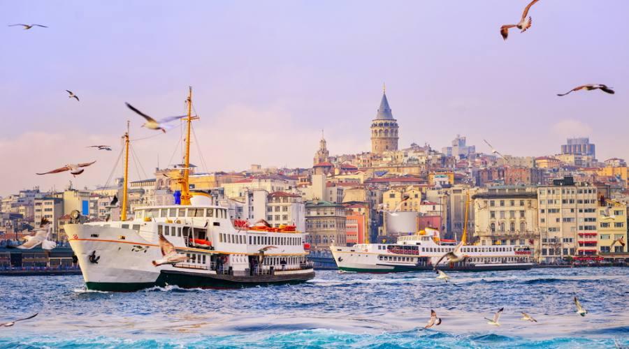 Corno dorato, Istanbul