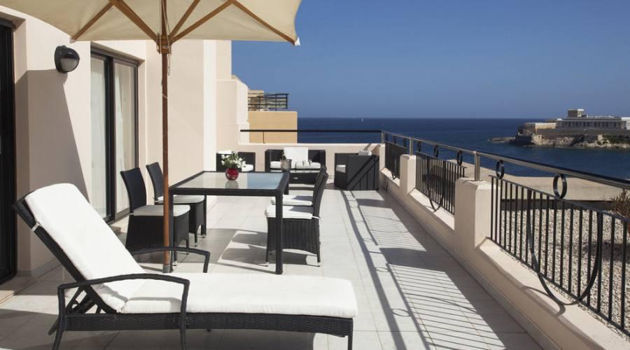 Marina Corinthia: Terrace Suite