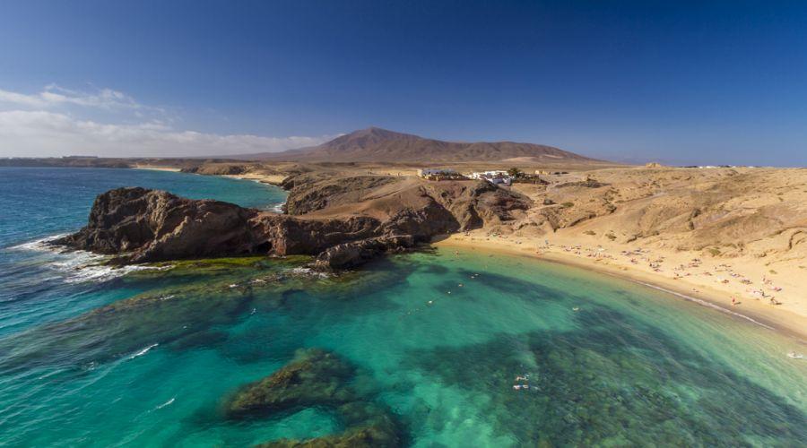 laznarote: playa papagayo
