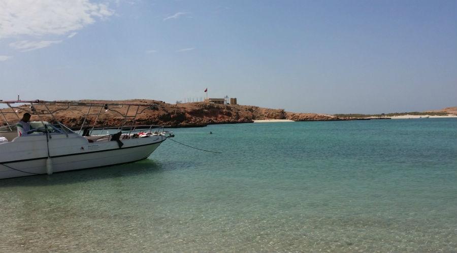 Oman-Daymanyat Island.