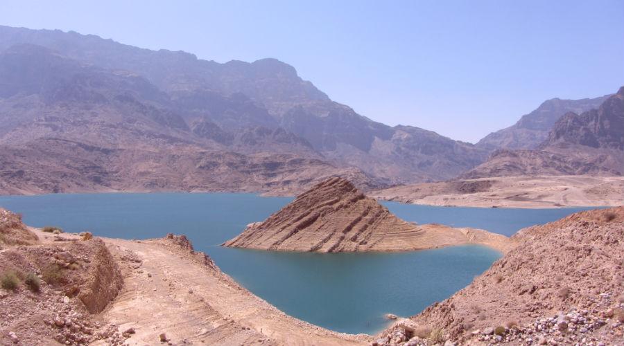 Wadi Daykah - panorama dall'alto