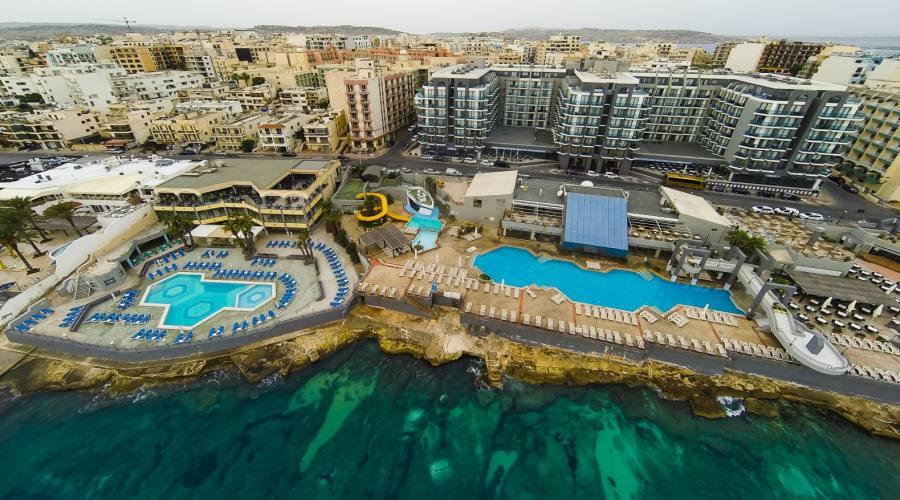 Seashells Resort: Veduta Panoramica sulla Struttura