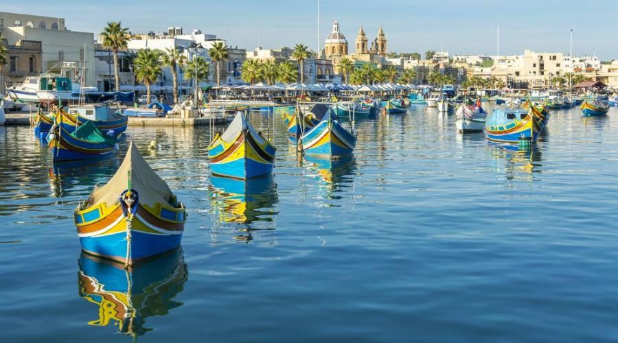 Malta: Porto di Marsaxlokk