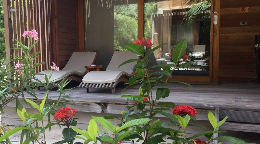 ll Patio delle Camere Sea Side del Barefoot Resort