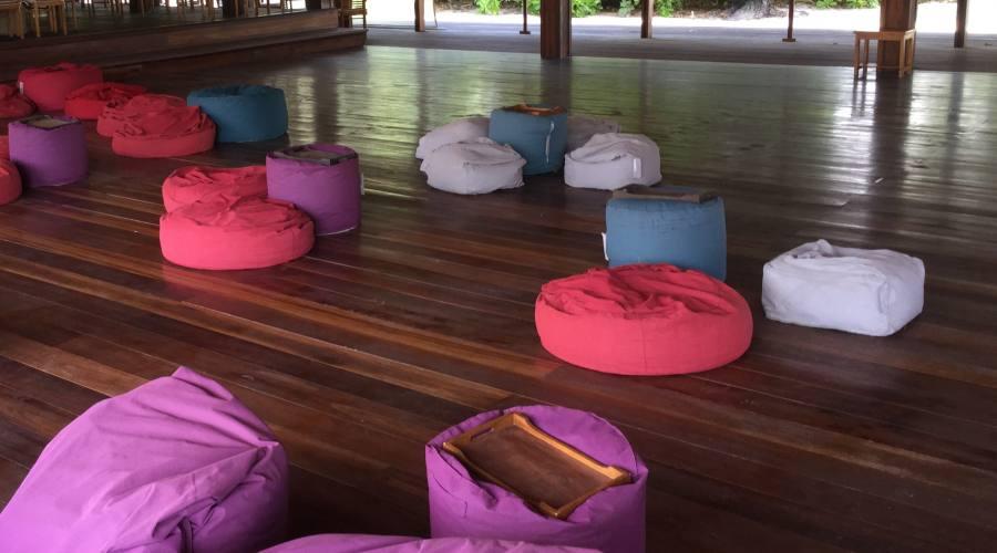 Zona Cinema e proiezioni al Barefoot resort