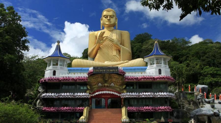 Dambulla: Tempio