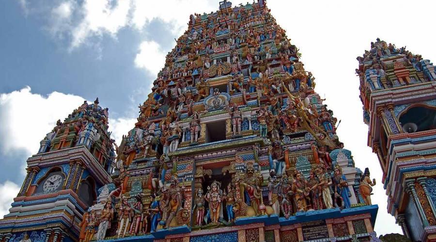 Dettagi di tempio