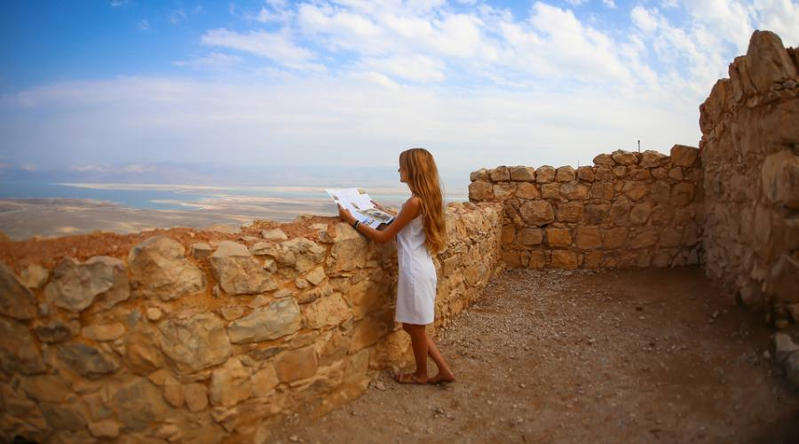 Panorama di Masada