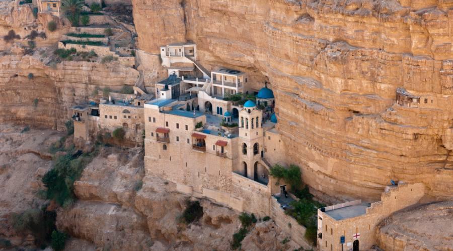 Wadi Qelt Monastero di San Giorgio