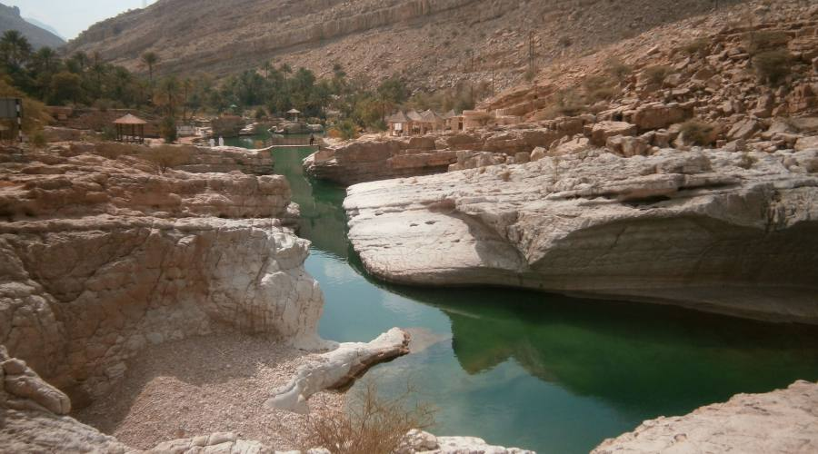 Wadi Bani Khalid - oasi