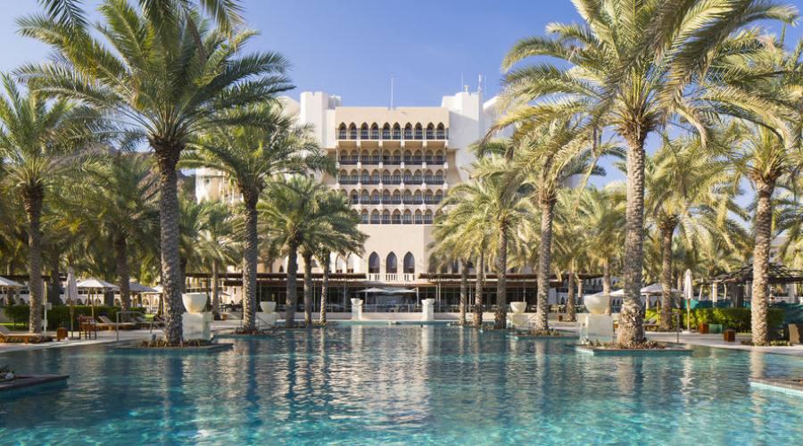 Hotel Al Bustan Palace -piscina