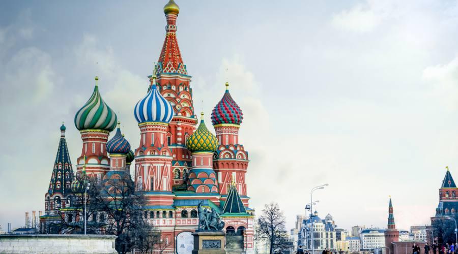Mosca Piazza Rossa San Basilio