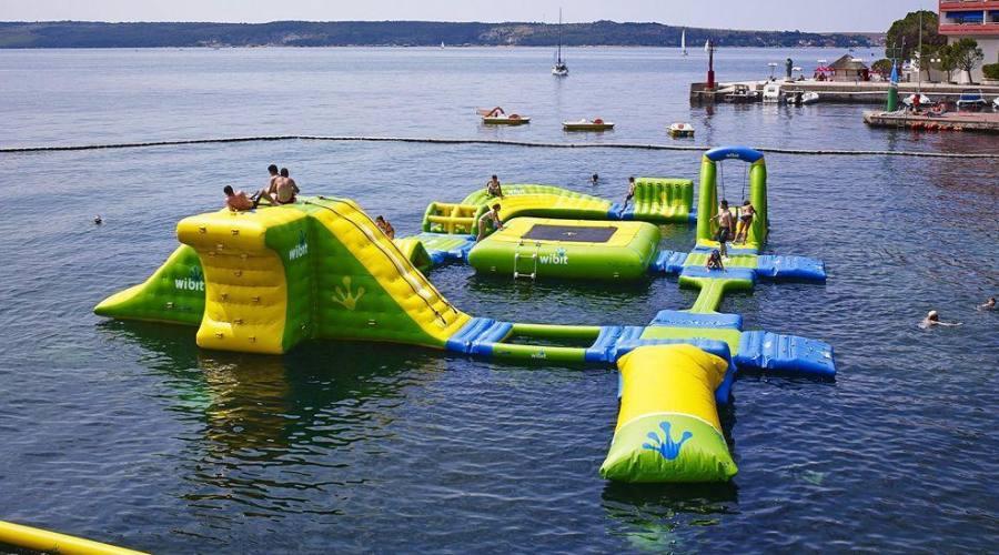 I giochi gonfiabili in acqua