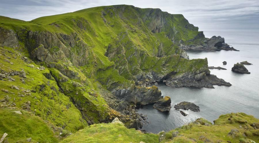 Selvaggia costa scozese