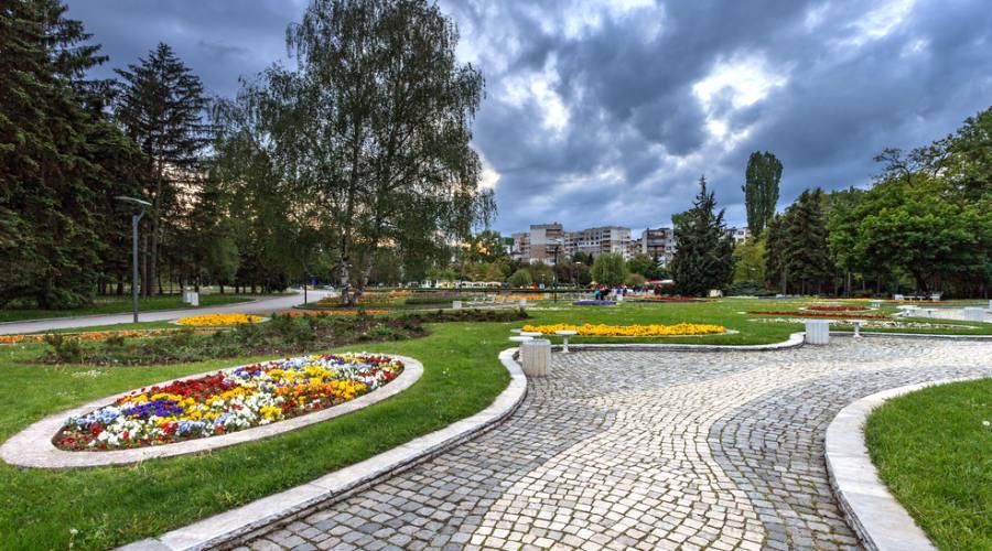 Sofia, il parco