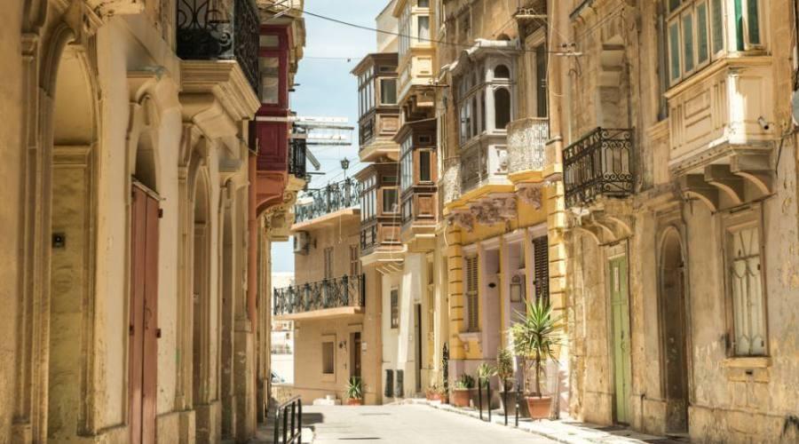 Malta: Balconi Tradizionali