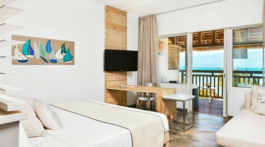 Una camera dell'hotel Zilwa Attitude