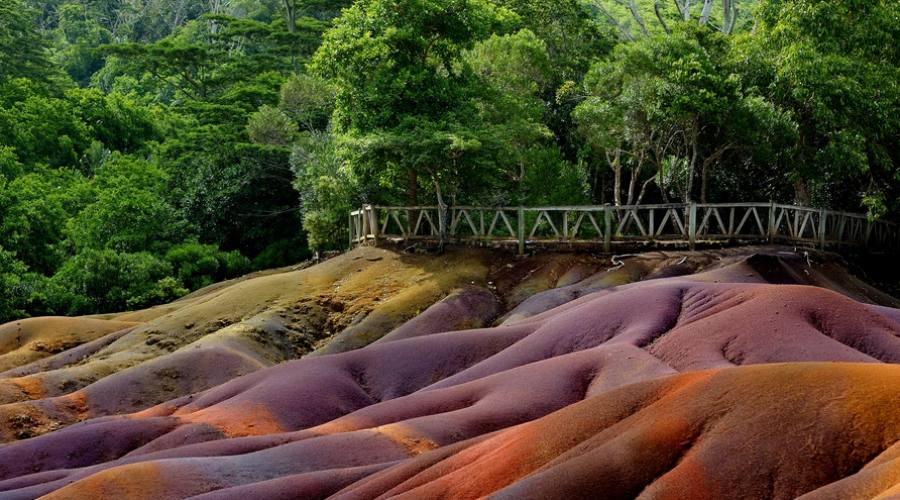 Alla scoperta di Mauritius: le Terre Colorate di Chamarel