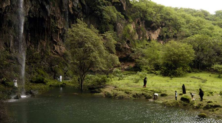 Cascate di Wadi Darbat