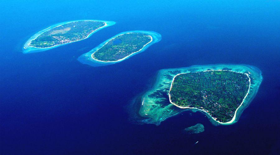 Vista mare delle isole