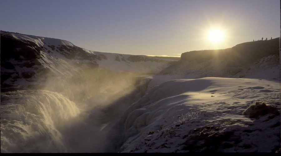 La cascata d'Oro Gullfoss