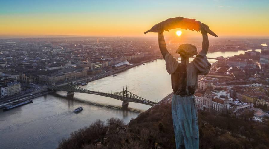 Budapest dalla collina