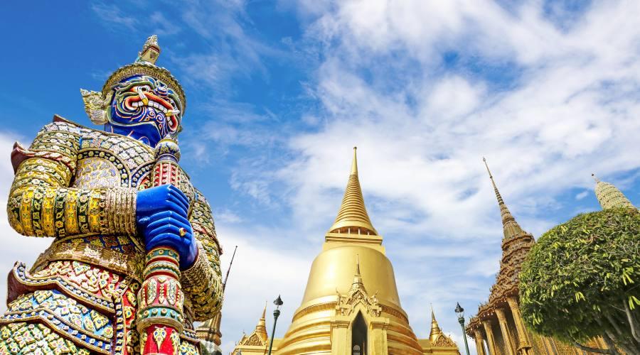 Il tempio Wat Phra Kaeo di Bangkok