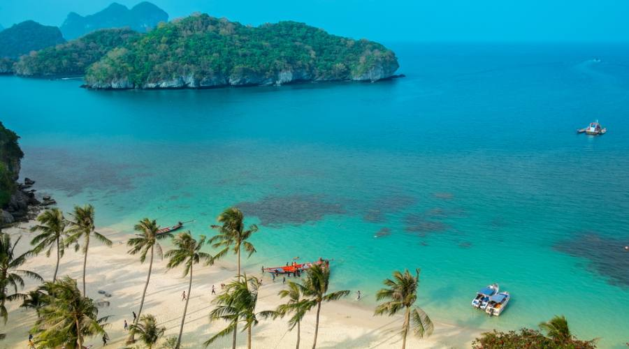 Il parco marino di Angthong