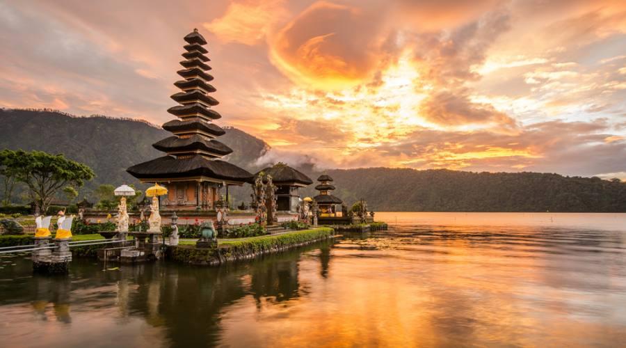 Bali: Tempio galleggiante di Ulun Danu