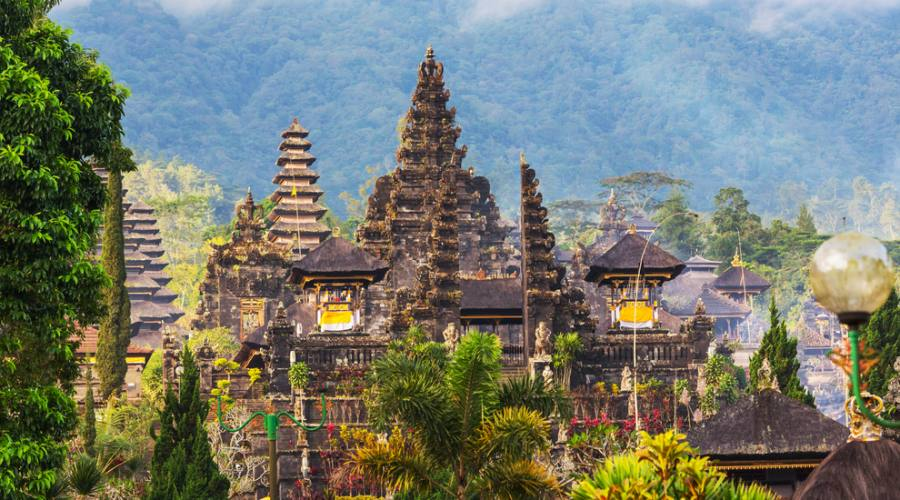 Il tempio Pura Besakih a Bali