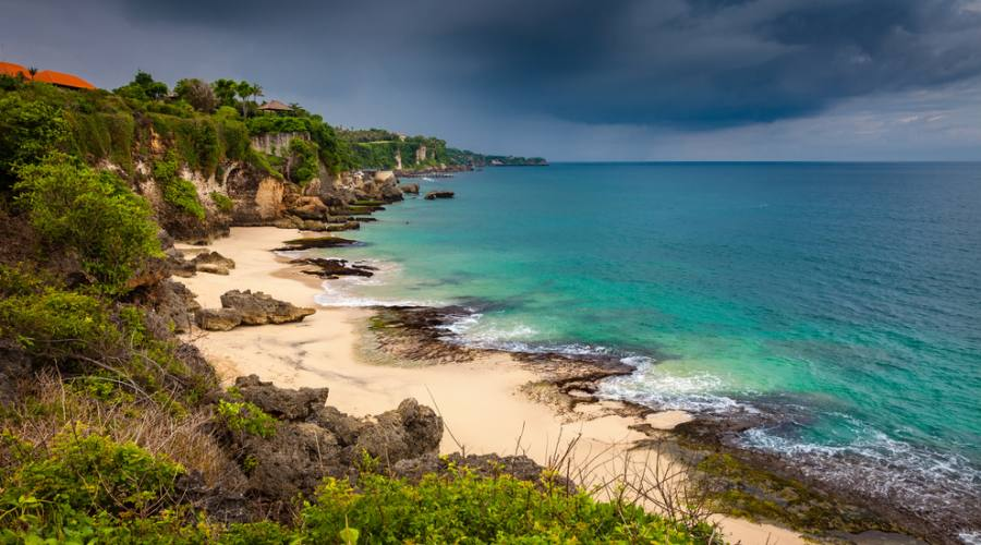 Una delle magnifiche spiagge di Bali