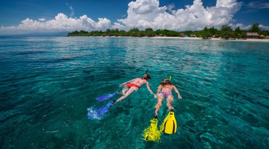 Pronti a fare snorkelling in uno dei mari piu' belli al mondo?