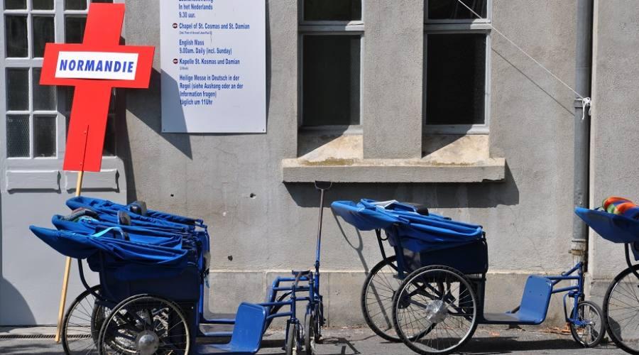 Carrozzina per disabili Lourdes